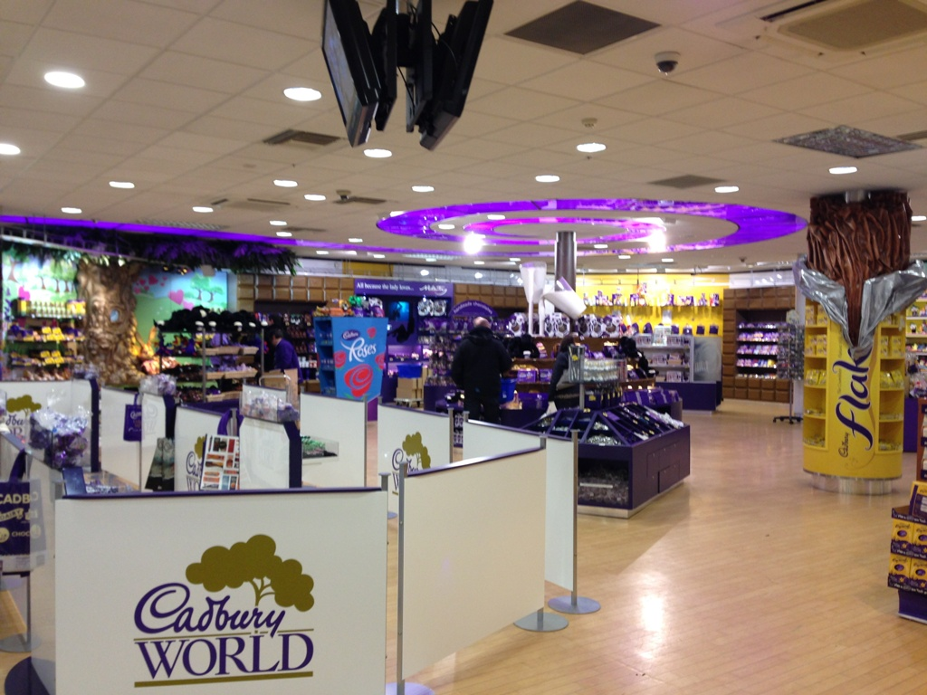 Cadbury World ved Birmingham
