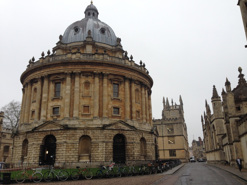 Radcliffe Camera i Oxford