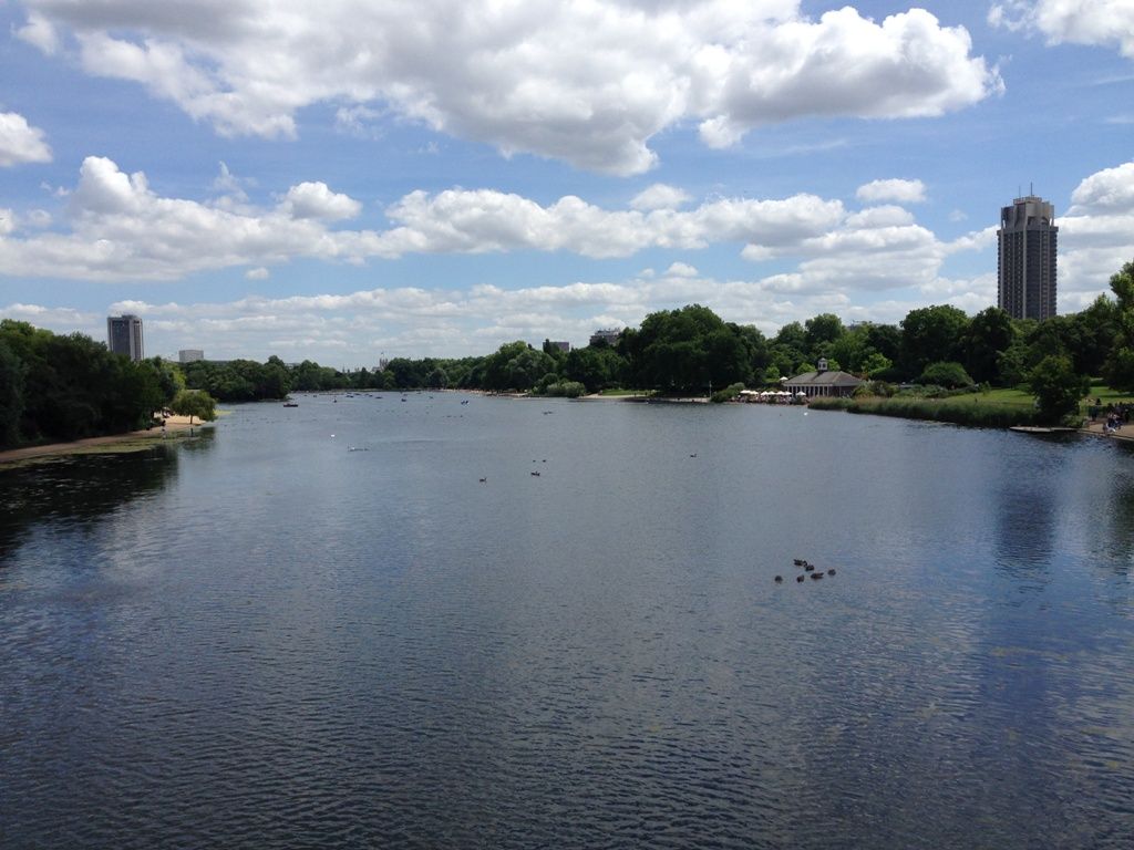 The Long Water - Hyde Park