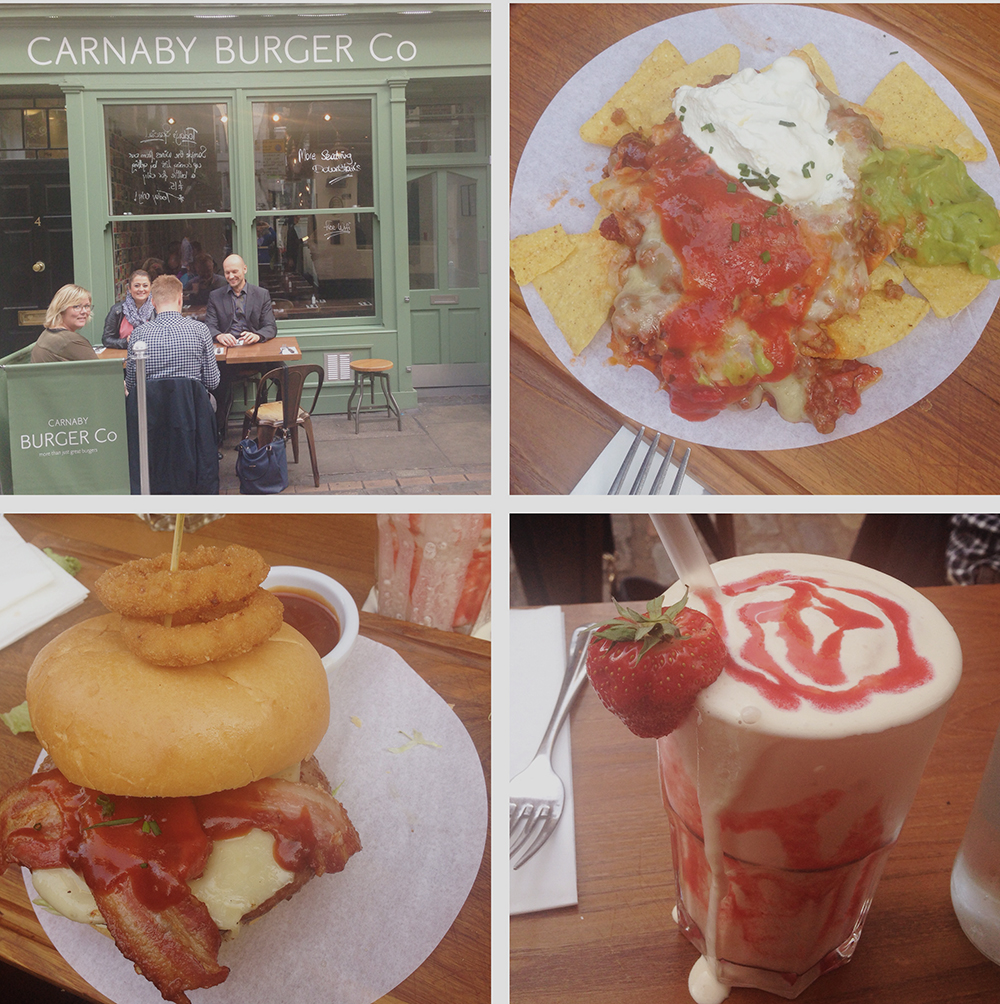 carnaby burger london