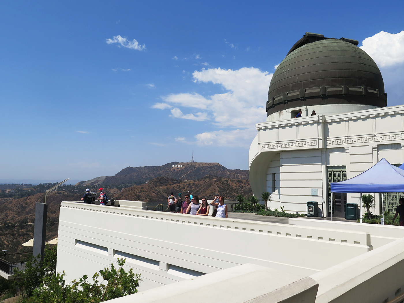 Rejseguide Los Angeles Griffith Observatory